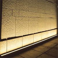 Bañador de pared con cinta LED
