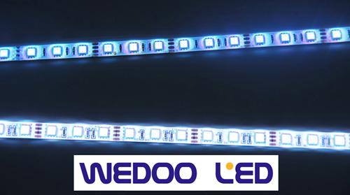Comparación de la cinta Wedoo Led y la cinta estándar